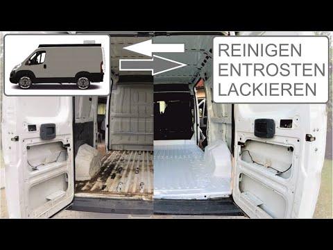#2 - DIY Citroen Jumper Camper Ausbau / Reinigen / Entrosten / Lackieren