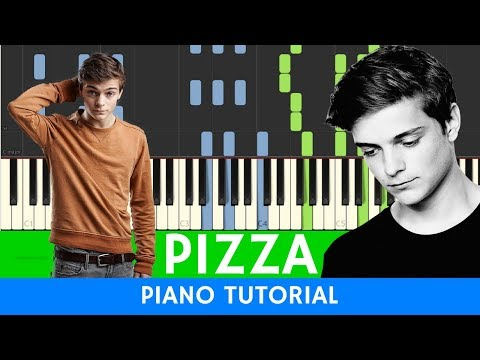 Martin Garrix  Pizza  PIANO