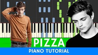 Martin Garrix Pizza PIANO