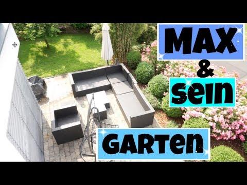 Gartenprojekt MAX I Mähroboter I Palettenlounge selber bauen I Max hat keine Ruhe