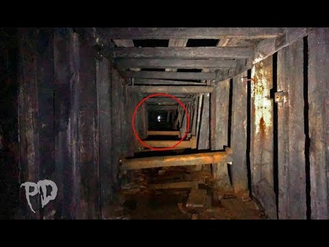Ghost Encounter DEEP Underground In ABANDONED Mine & Train Tunnel