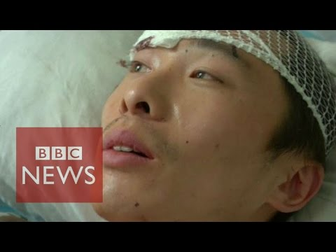 China explosion 'blew me away' - BBC News