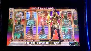 Game Of The Gods Slot Machine Bonus(dollar sixty cent bet., 2015-11-01T19:50:07.000Z)