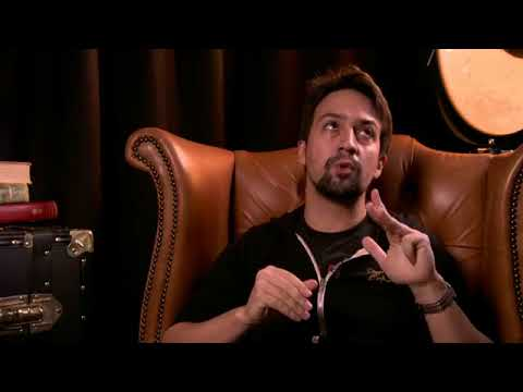 Lin-Manuel Miranda was live talking about latest Prizeo contest