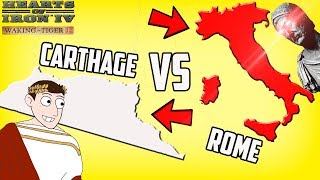 Carthage Returns! Fourth Punic War in 1939 Hearts of Iron 4 HOI4 Mod Gameplay