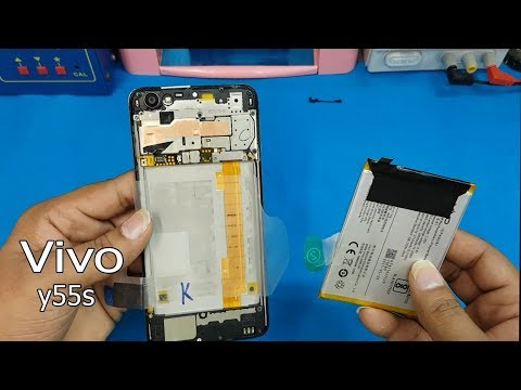 innovative design 6b48b 288c5 Vivo Y55s Battery Replacement || How to Open Vivo y55s Back Cover ...