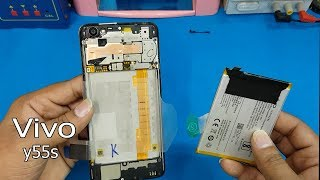 Vivo Y55s Battery Replacement || How to Open Vivo y55s Back Cover-Vivo 1610