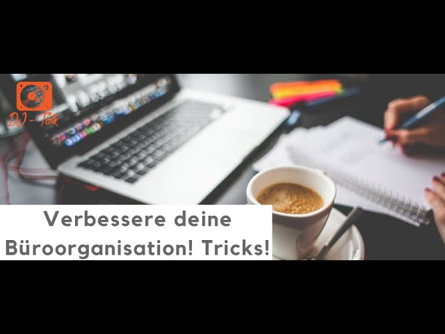 Bessere Büroorganisation | Mit Andreas Schwarzlmüller | LIVE