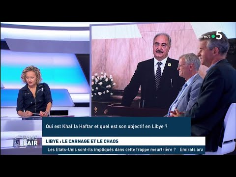 Libye : le carnage et le chaos - Les questions SMS  #cdanslair 04.07.2019