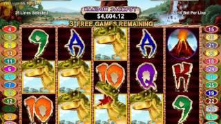 T-Rex Slot RTG - BIG Win Free Games!