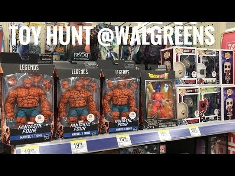 EP67 Toy Hunt Walgreens Exclusive Marvel Legends The Thing 2018 Massive Toys Clearance @Target