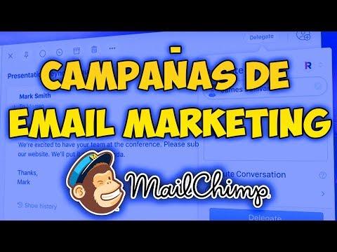 Cómo crear CAMPAÑAS de EMAIL MARKETING con MAILCHIMP? (Tutorial marketing) thumbnail
