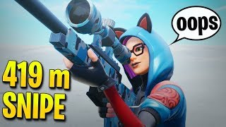 *NEW* FARTHEST SNIPE KILL BY DR LUPO! (Fortnite Stream Highlights)