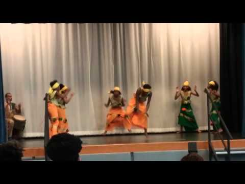 African Dance at Arthur Ashe Charter School in NOL