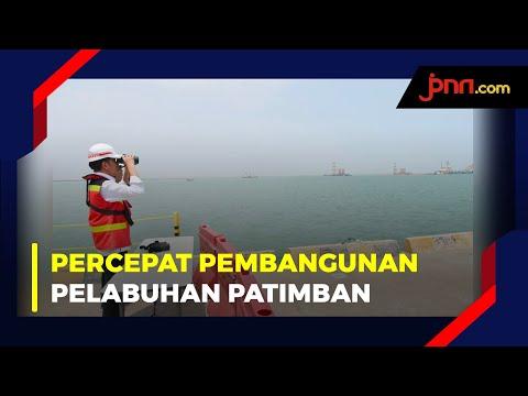 Tegas! Jokowi Minta Pembangunan Pelabuhan Patimban Dipercepat
