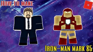 How to make Iron-man Mark 85 in Roblox Superhero Life 2
