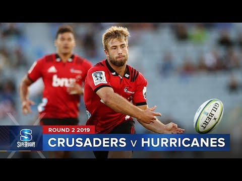 HIGHLIGHTS: 2019 Super Rugby Round 2 Crusaders v Hurricanes