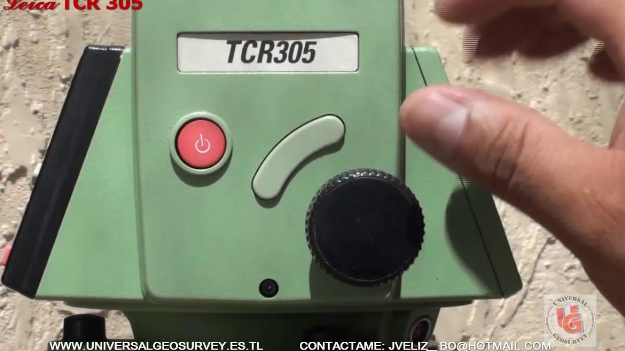 compl manejo estacion total leica tps300 config tc r a 302 tc r rh youtube com