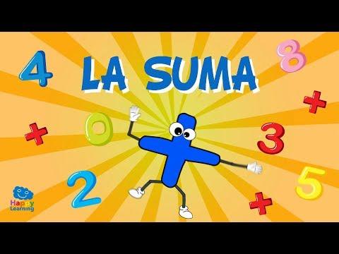 Aprendiendo a sumar. La Suma   Vídeos Educativos para niños thumbnail