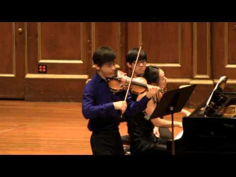 "Angelo Xiang Yu and Mei Rui - Beethoven ""Kreutzer"" Violin Sonata II. Andante con Variazioni"