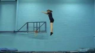 Trampoline Central = Forward Somersault (Tucked) Demo
