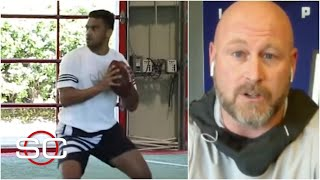 Trent Dilfer says Tua Tagovailoa moves better than before his injury | SportsCenter