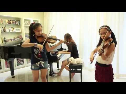ใครหนอ (Krainoh) - Note & Pin Sisters - 2 Violins & Piano