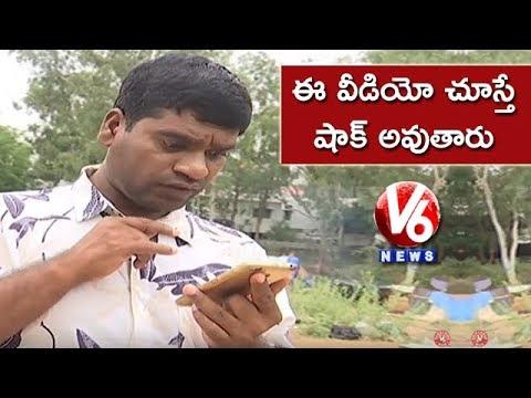 Bithiri Sathi Reporting Fake News   Satirical Conversation On Fake WhatsApp Messages   Teenmaar News