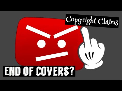 YouTube Copyright Claims | End Of Cover Music On YouTube?