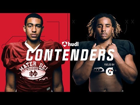Contenders Ep 301 - Poise & Power - top ranked QB Bryce Young faces top ranked DE Korey Foreman