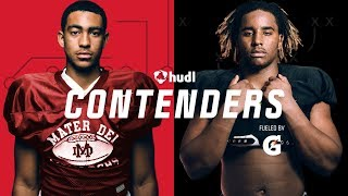 Contenders Ep 301   Poise And Power   Top Ranked QB Bryce Young Faces Top Ranked DE Korey Foreman