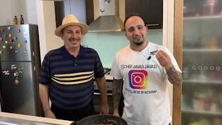 آموزش املت بادمجان ممد دایی به سبک لری همراه با جوادجوادی