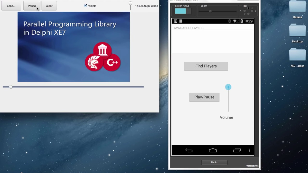 App Tethering with Bluetooth (Delphi)