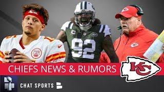 Chiefs Trade Rumors On Leonard Williams, Patrick Mahomes Injury Update + Will Chiefs Trade For A QB?