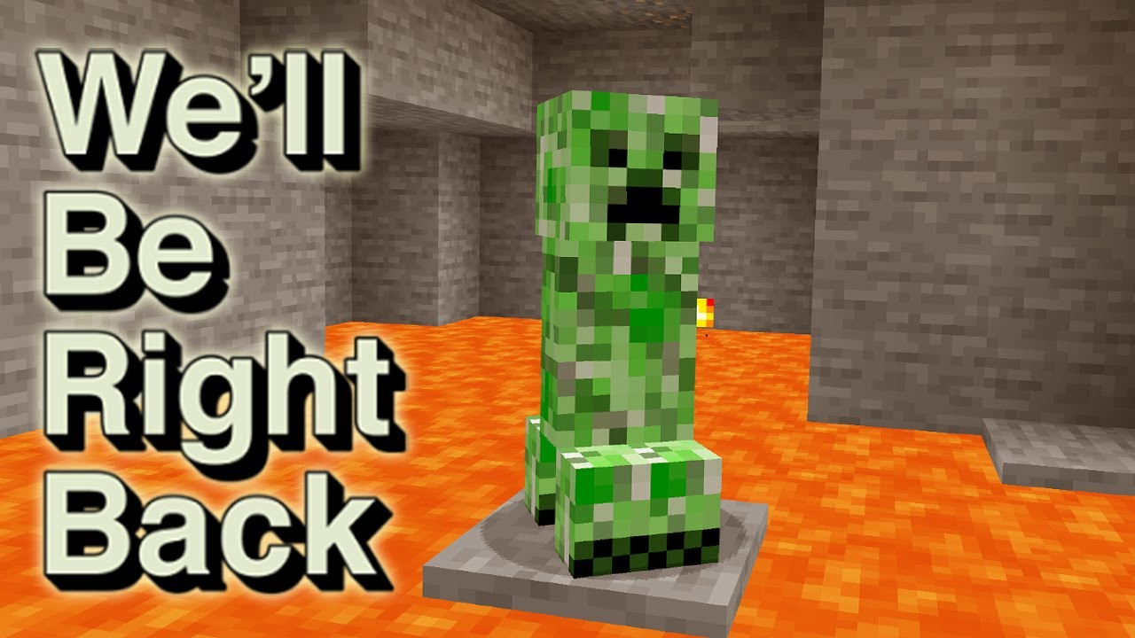 Minecraft: We'll Be RIght Back | Don't be friends with creeper By Scooby Craft