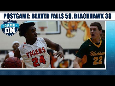 Game On Postgame: Beaver Falls 59, Blackhawk 38