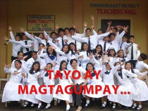 Graduation Song - PANIBAGONG BUKAS with lyrics