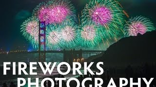 The keys to fireworks photographs, and a trick or two