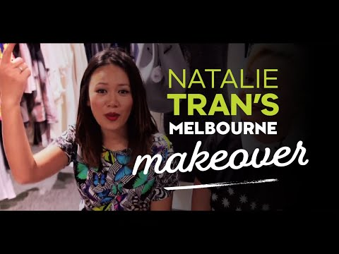 Natalie Tran in Melbourne for Virgin Australia Melbourne Fashion Festival