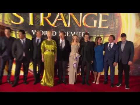 Doctor Strange: World Premiere Highlights - Benedict Cumberbatch