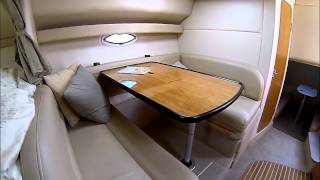 Maxum 3300SCR Express Cruiser Cabin Interior by South Mountain Yachts