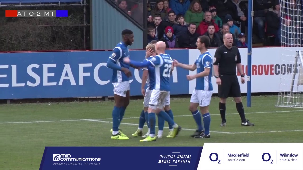Aldershot Town 1 2 Macclesfield Town Highlights Youtube