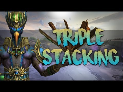 SMITE Book/Library Build! New Triple Stacking Mage Build & Why It Might Be An Issue