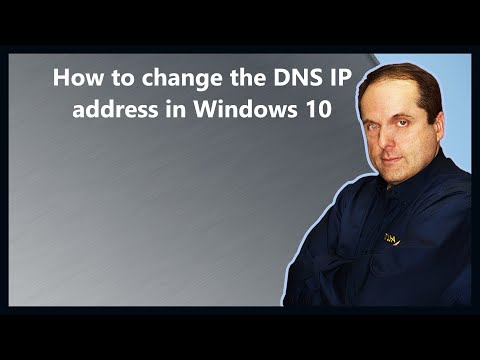 How to change the DNS IP address in Windows 10 - YouTube