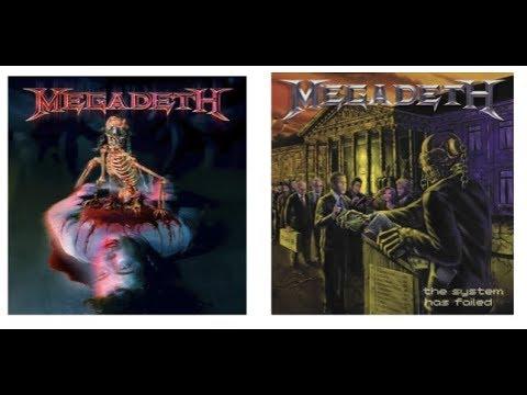 "MEGADETH reissue 2 albums ""The World Needs A Hero"" + ""The System Has Failed"" w/ bonus tracks"