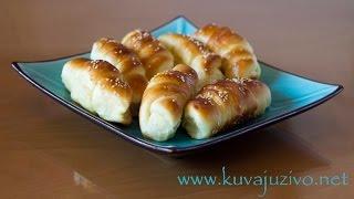Kiflice - Video Recept - Kuvaj Uzivo