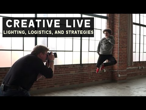 Lighting, Logistics, and Strategies for a Life in Photography - Creative Live Class Trailer