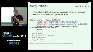 QCon London 2014: Going Native with Apache Cassandra with Johnny Miller