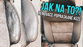 Jak opravit popraskané kožené sedačky v autě?