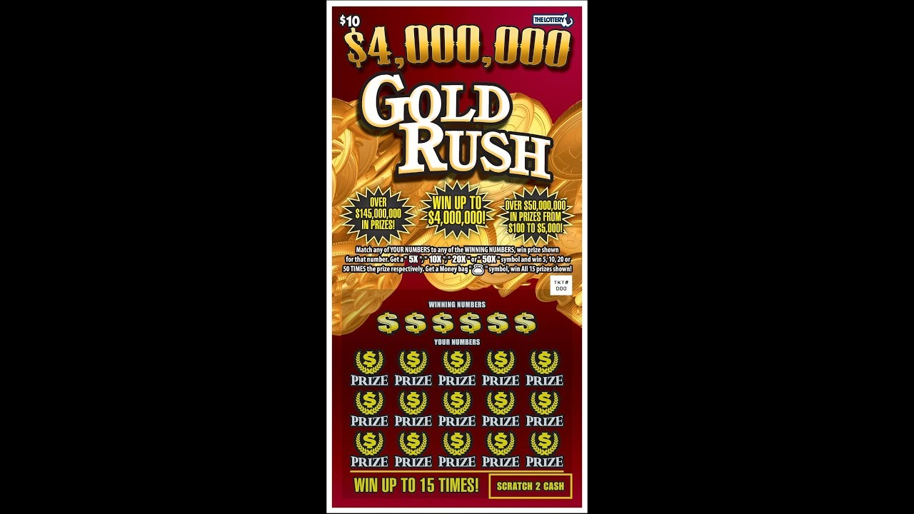 Gold Lotto Ticket Prices